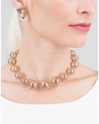Federica Rettore - Metallic Gorgonia Double Use Earrings - Lyst