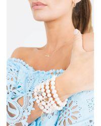 Sydney Evan - Metallic Diamond Pave Snake Charm Bracelet - Lyst