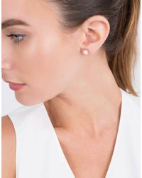 Monique Péan - Natural Woolly Mammoth Diamond Stud Earrings - Lyst