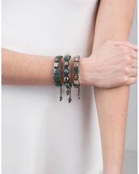 Shamballa Jewels - Green Marble Bead Bracelet - Lyst