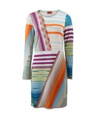 Missoni - Multicolor Stripe Dress - Lyst