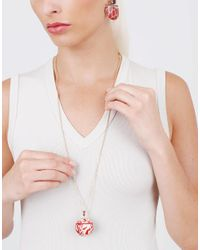 GEMFIELDS X MUSE - Multicolor Silvia Furmanovich Marquetry Red Chinese Ball Necklace - Lyst