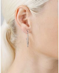 Dana Rebecca - Metallic Lulu Jack Hoop Earrings - Lyst