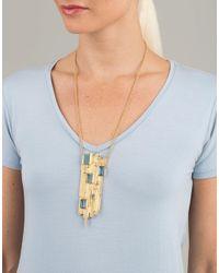 Todd Reed - Multicolor Aquamarine Pendant Necklace - Lyst