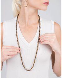 Yossi Harari - Metallic Libra Tiger Eye Wrap Necklace - Lyst