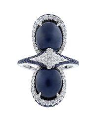 Inbar - Blue Cabochon Star Ring - Lyst
