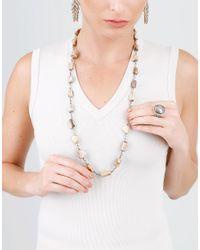 Sylva & Cie - Multicolor Rough Diamond Ring - Lyst