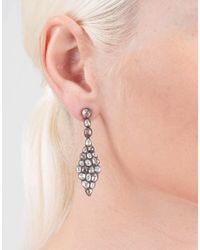 Yossi Harari - Metallic Cascade Diamond Earrings - Lyst