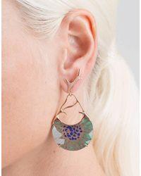 Federica Rettore - Metallic Borealis Earrings - Lyst