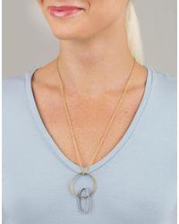 Todd Reed - Metallic Diamond Openwork Necklace - Lyst