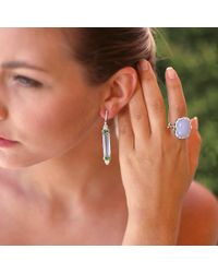 Inbar - Multicolor Aquamarine Earrings - Lyst