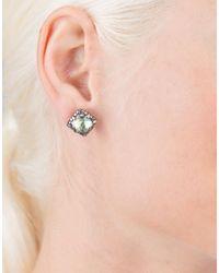 Larkspur & Hawk - Metallic Sadie Cushion Earrings - Lyst