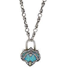 Sevan Biçakci - Multicolor Large Lantern Lock Pendant - Lyst