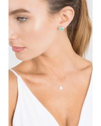 Dana Rebecca - Green Anna Beth Chrysoprase Stud Earrings - Lyst
