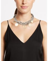 Marks & Spencer - Metallic Charmy Chain Collar Necklace - Lyst