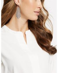 Marks & Spencer - Multicolor Crystal Drop Earrings - Lyst