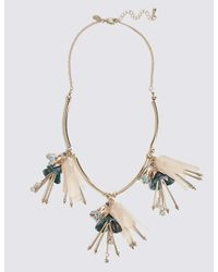 Marks & Spencer - Multicolor Pretty Garden Droplets Necklace - Lyst