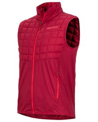 Marmot - Red Featherless Trail Vest for Men - Lyst