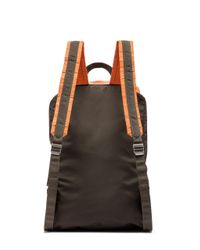 Marni - Multicolor Backpack In Two-tone Nylon - Lyst