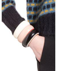 Marni - Pink Rigid Bracelet In Acrylic Resin - Lyst