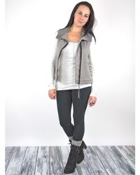 Marrakech | Gray Ricki Sleeveless Jacket | Lyst