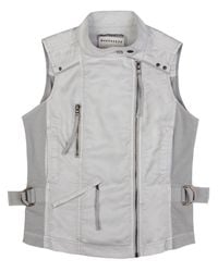 Marrakech - Gray Zanzibar Zipper Vest - Lyst