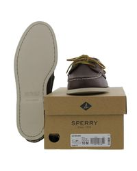 Sperry Top-Sider - Top Sider Boat Shoe 0195115 - Brown for Men - Lyst