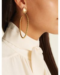 Sylvia Toledano | Metallic Quartz And Gold-plated Earrings | Lyst