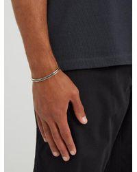 M. Cohen - Metallic Sterling-silver Cuff for Men - Lyst