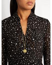 Theodora Warre - Metallic Zircon And Gold-plated Necklace - Lyst