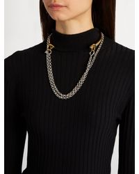 Charlotte Chesnais - Metallic Briska Silver & Gold-plated Necklace - Lyst