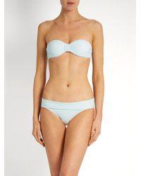 Heidi Klein - Blue Milos Fold-over Bikini Briefs - Lyst