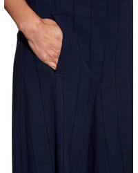 Proenza Schouler - Blue Wide Leg Culottes - Lyst