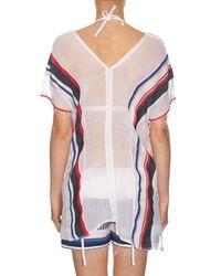 Lemlem - Multicolor Meron Multi-stripe Cover-up - Lyst