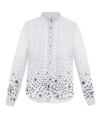 Thierry Colson | White Peggy Polka-dot Print Blouse | Lyst