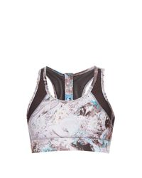 Alala | Metallic Zip-up Performance Bra | Lyst