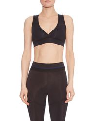 Alala - Purple Cross-front Performance Bra - Lyst