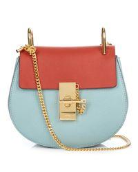 Chloé - Red Drew Mini Leather Cross-Body Bag - Lyst