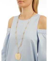 Aurelie Bidermann Multicolor Lauren Apple Gold-plated Necklace