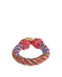 Aurelie Bidermann - Metallic Maya Bead-embellished Bracelet - Lyst
