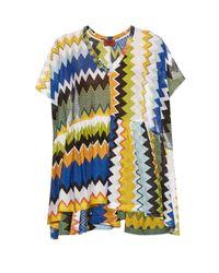 Missoni | Multicolor Zigzag Pareo W/tie | Lyst