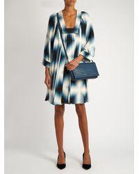 Bottega Veneta | Blue Intrecciato Leather Cross-body Bag | Lyst