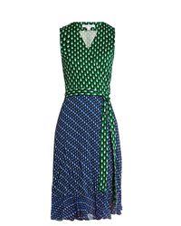 Diane von Furstenberg | Green Bethanie Dress | Lyst
