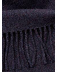 Acne Studios - Blue Canada Wool Scarf - Lyst