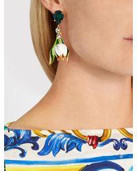 Dolce & Gabbana - Multicolor Citta Multicoloured Drop Earrings - Lyst