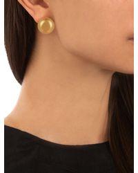 J.W.Anderson - Metallic Sphere Gold-plated Earrings - Lyst