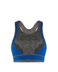 LNDR - Gray Dynamic Sports Bra In Charcoal - Lyst