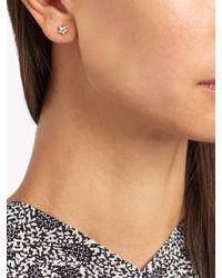 Maria Tash - Multicolor Diamond & White-gold Earring - Lyst