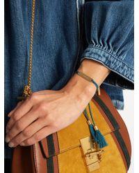 Chloé - Blue Xoxo Bracelet - Lyst