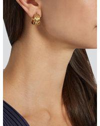 Aurelie Bidermann - Metallic Ariane Gold-plated Earrings - Lyst